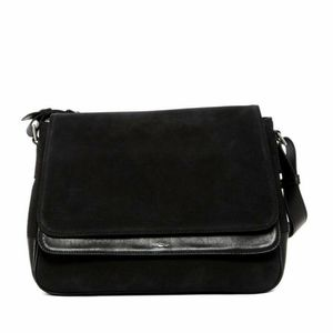 Shinola Detroit Suede Saddle Bag $995 retail